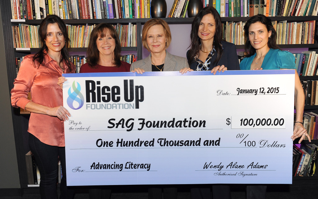 SAG Foundation Receives $100,000 Donation From Rise Up Foundation