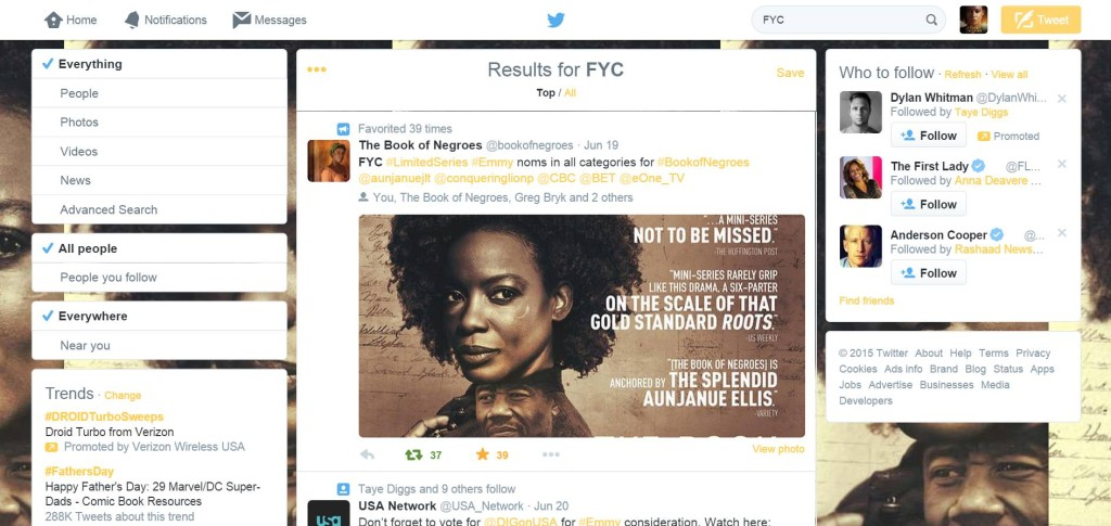 Social Media: Award Season Campaigns for Talent and Producers